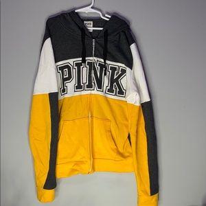 Victoria Secret Pink Zipper Sweatshirt